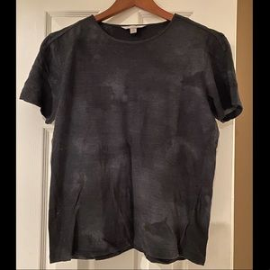 John Varvatos Distressed Army T-Shirt